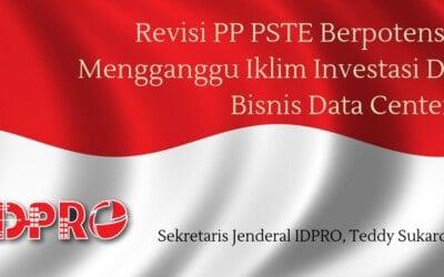 Revisi PP PSTE Berpotensi Mengganggu Iklim Investasi Di Bisnis Data Center